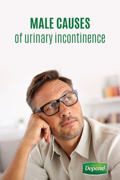 Women aren't the only ones who struggle with incontinence. For many men, it can be embarrassing to talk about this issue, but knowing as much information as possible can help you manage this common condition. Fortunately, Depend® has created a handy guide for men to help understand the causes of urinary incontinence. With the right products, you can get back to leading the life you want to with confidence!