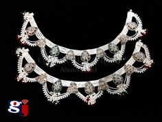 Dulhan payal design , Indian traditional silver ornament , wedding jewellery , #gj design , Silver Payal, Silver Anklets, Royal Jewelry, Silver Jewelry, Jewellery, Full Sleeves Blouse Designs, Mehandi Design For Hand, Stylish Tops For Girls, Ring Design For Female