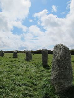 The Merry Maidons, ancient stone circle, near Lands End, Cornwall