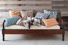 Pillows for a brown couch