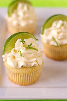 Margarita Cupcakes by Brown Eyed Baker