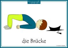 Kinderyoga Flashcards Brücke