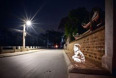 light stencil - fabrice wittner