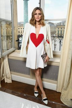 Olivia Palermo attends the Schiaparelli Haute Couture Fall/Winter 20172018 show as part of Haute Couture Paris Fashion Week on July 3 2017 in Paris...
