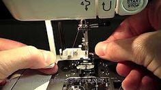 janome sewing machine CXL301 - YouTube
