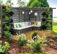 Incredible backyard patio garden privacy screen ideas (64) #PergolasPatio