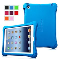 $16 Fintie iPad 2/3/4 Kiddie Case - Ultra Light Weight Shock Proof Kids Friendly Cover for Apple iPad 4th Generation with Retina Display, the New iPad 3 & iPad 2, Blue Fintie http://www.amazon.com/dp/B00N1LP1F4/ref=cm_sw_r_pi_dp_47Roub1SX2RRV