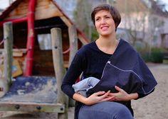 Stillschal  von mien BABYmien // Stillschals und Kuscheliges für dich und dein Baby auf DaWanda.com
