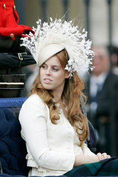 See Princess Beatrice​'s most memorable dresses and hats from the royal weddings, Royal Ascot, Met Gala, Trooping the Color, and other big fashion moments. Princesa Beatrice, Princess Beatrice Wedding, Princess Eugenie And Beatrice, Princess Diana, Royal Life, Royal House, Windsor, Eugenie Of York, Duchess Of York