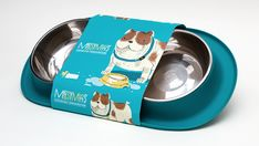 Messy Mutts - Dog Food & Water Bowl