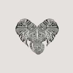 Huge Heart Art Print by Huebucket | Society6