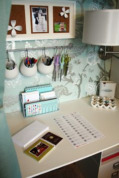 Commercial Copy Room Craft Table With Storage