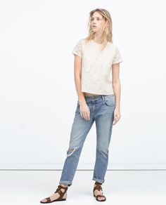 Lace Top http://www.zara.com/us/en/woman/tops/view-all/lace-top-c719021p2424508.html
