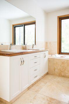 What Is Trending Now, Croydon, Classic White, Double Vanity, Showroom, Bathrooms, Doors, Facebook, Website