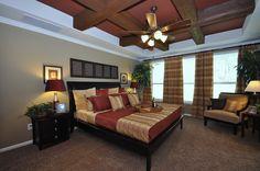 Rustic ceiling in Master Bedroom