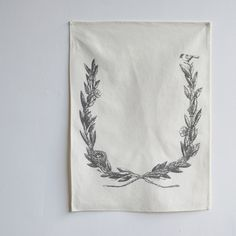 for logo design - tea towels.