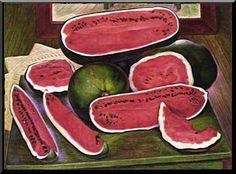 Diego Rivera - Watermelons