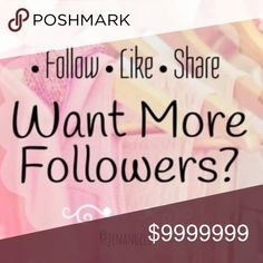 • FOLLOW GAME • This is the second follow game as the first maxed out with 600 likes! The rules are simple! 1) Follow Me 2) Like this 3) Share this 4) Follow all who liked 5) Tag others                                                                           💟Like  💟Follow  💟Share  💟Repeat Jennifer's Chic Boutique Tops