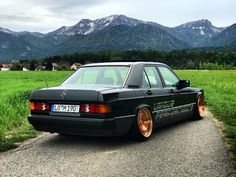 Mercedes W201, Mercedes Benz 190e, Daimler Benz, Audi A7, Stance Nation, Old Cars, Cars And Motorcycles, Old School, Classic Cars