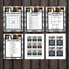 Star Wars Baby Shower Games, Instant Download At Purchase, Star Wars Shower  Games,