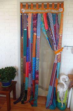 Arabian Nights Door Curtain X silver sequins coins : GYPSY coin Door Curtain 35 X 86 Boho Privacy Rag Curtains, Quilted Curtains, Bohemian Curtains, Closet Curtains, Privacy Curtains, Shabby Chic Curtains, Beaded Curtains, Bohemian Living, Bohemian Decor