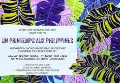 Paris Food & Drink Events: Vernissage+Popup: UN PRINTEMPS AUX PHILIPPINES