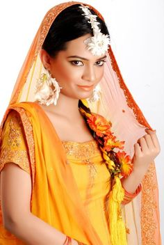 Indian Flower Jewellery For Girls