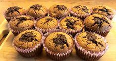 Mennyei Csokis-banános muffin🍌 recept! A rengeteg muffin recept közül nekem ez vált be a legjobban! 🤗😉 Food And Drink, Sweets, Breakfast, Cupcake, Per Diem, Sweet Pastries, Gummi Candy, Sweet Treats, Cup Cakes