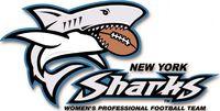 New York Sharks (Brooklyn, New York), Aviator Sports Complex, Conf: Atlantic #NewYorkSharks #BrooklynNewYork #IWFL (L13757)