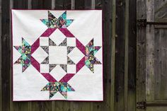 Faith Jones designed the Radiant Splendor Supersized Quilt from one of her favorite blocks. Follow along with our quilt-along to make your own!