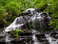 Waterfalls to see in SC 4. Issaqueena Falls