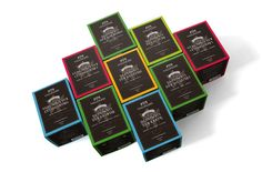 Hallingers Tea Box / Packaging Design #packagingdesign #tea #label #labeldesign #productrange #packagingdesign