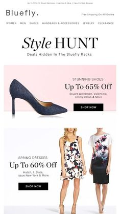 2ccc99e23e78 Floral Sheaths + Denim Pumps   You Ready For Spring - Bluefly Email Archive