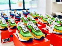 Exclusive Sneakers, Best Brand, Nike, Store, Green, Shopping, Larger, Shop