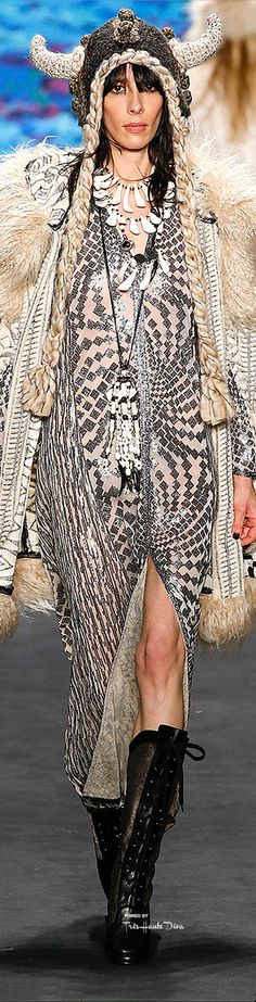 Anna Sui Fall 2015 RTW  ♔ Très Haute Diva