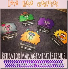 Table Behavior Plan Freebie! Creekside Teacher Tales
