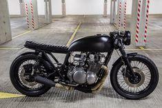 Custom Suzuki GS 750 in Matte by Robinson's Speed Shop | Moto Verso | Moto Verso