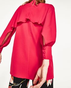 DRESS WITH OPEN SLEEVES-NEW IN-WOMAN | ZARA United States