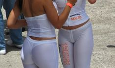 girls in semi sheer yoga pants - Google Search