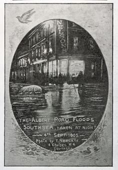 The Albert Road Floods, 4th September 1903.