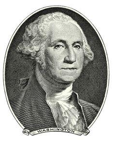 Portrait of George Washington. Portrait of first U.S. president George Washingto , #spon, #president, #dollar, #Washington, #Portrait, #George #ad