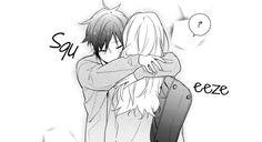 Horimiya I luv this manga so much >. Anime Love Couple, Cute Anime Couples, Desenhos Love, Horimiya, Cute Couple Drawings, Manga Cute, Anime People, Anime Kawaii, Manga Illustration