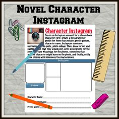 create an instagram account for a novel character. What would they post? What would they hashtag?
