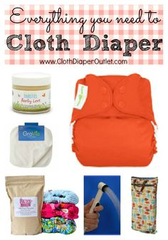 Getting Started: What do you need to cloth diaper? via I Love Cloth Diapers blog
