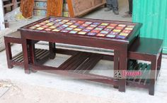Art Crafts, Arts And Crafts, Restaurant Furniture, Wardrobe Design, Garden Furniture, Modern Design, Tile, Table Settings, Indian