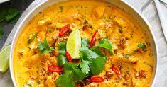 Andalusian auringossa - matka-, viini- ja ruokablogi: Lihaton lokakuu: thaimaalainen punainen soijacurry (vegaani)
