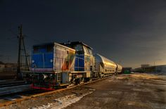 Freight train by Dan Xerxes Sundstrom on 500px