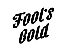 Fool's gold designed by Olga Vasik. Connect with them on Dribbble;