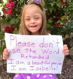 This just so touched my heart. Her name is Isabella and she is beautiful.