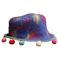Himalaya felted hat...from Himalaya Crafts.